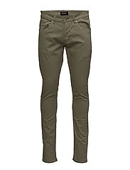 Penn Broken Twill - DUSTY OLIVE