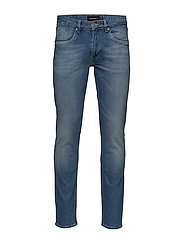 Priston Light Wash Denim - LIGHT DENIM