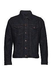 Peter Denim Jacket Blue Vintage Was - DARK DENIM
