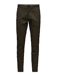 Pristu CM Clean Chino - WOODLAND GREEN
