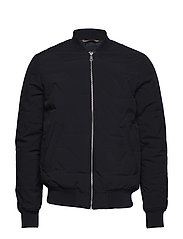 Clay Quilted Bomber - DARK NAVY