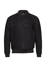 Blake N Boiled Wool - BLACK