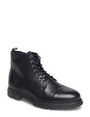 Arto Laced Boot - BLACK