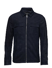 Runn Shirt Jacket - DARK NAVY