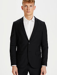 Matinique - Jonathan - single breasted blazers - black - 0