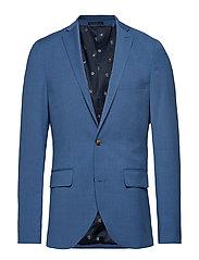 George F Light Blue Suit Blazer Kavaj Blå MATINIQUE