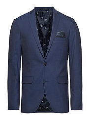 George F Clear Blue Suit - DARK NAVY