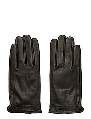 GrooveMA Grained Leather Glove - BLACK