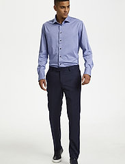 Matinique - MAmarc N - geruite overhemden - ink blue - 0