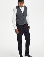 Matinique - MAlogan 1 Jersey - waistcoats - dust blue - 0