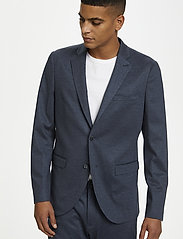 Matinique - MAgeorge Jersey - single breasted blazers - dust blue - 4