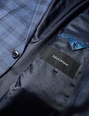 Matinique - Dust Blue Check - enkeltkneppede dresser - dust blue - 10