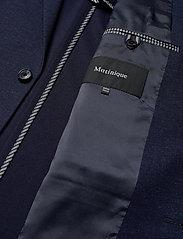 Matinique - MAgeorge Jersey - enkelknäppta kavajer - ink blue - 4
