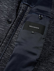 Matinique - MAgeorge Jersey - single breasted blazers - dark navy - 4