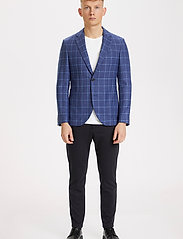 Matinique - MAgeorge - single breasted blazers - dust blue - 3
