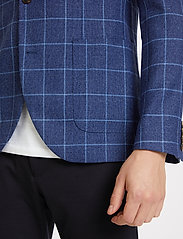 Matinique - MAgeorge - single breasted blazers - dust blue - 5