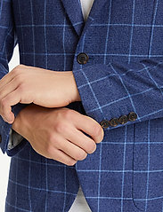 Matinique - MAgeorge - single breasted blazers - dust blue - 6