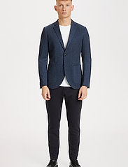 Matinique - MAgeorge Jersey - single breasted blazers - dark navy - 3