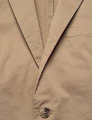 Matinique - MAnoel - single breasted blazers - khaki - 3