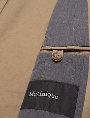 Matinique - MAnoel - single breasted blazers - khaki - 6