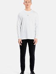 Matinique - MALogo T-shirt LS - t-shirts basiques - white - 3
