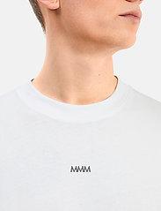 Matinique - MALogo T-shirt LS - t-shirts basiques - white - 5
