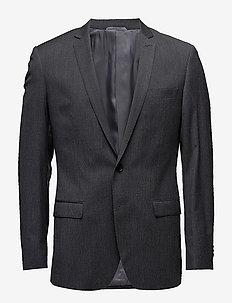 BARRET B - blazers à boutonnage simple - dark grey mel