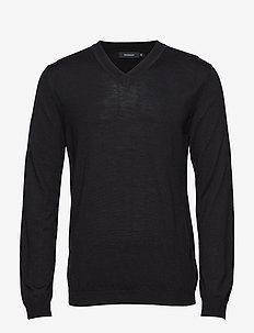 Viggo - basic knitwear - black