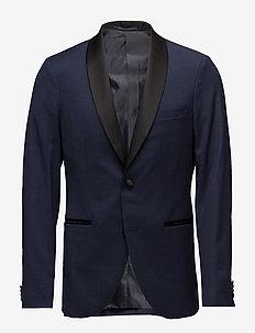 George Shawl Stretch Suit - enkeltkneppede blazere - dark navy