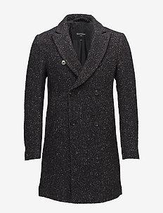 Break N Euro Fleck - wool coats - dark navy