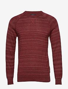 Sport Spring Knit - podstawowa odzież z dzianiny - berry