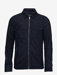 Runn Shirt Jacket - DARK NAVY