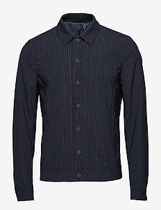 Zachary Jacket - overshirts - dark navy