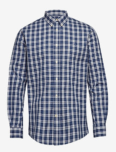 Jude BD - checkered shirts - dust blue