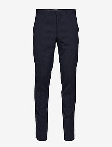 Las - casual trousers - dark navy