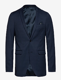 George F - single breasted blazers - ink blue