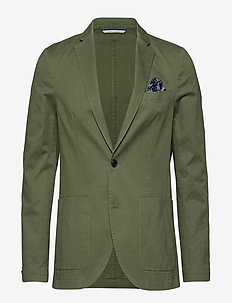 George Casual - single breasted blazers - washed army