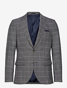 George - single breasted blazers - limestone