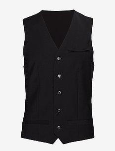 Breck - waistcoats - black