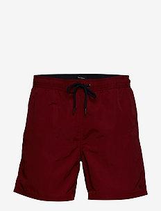 Swim Short - swim shorts - brick red
