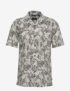 Trostol resort 2 Hand drawn - BLACK