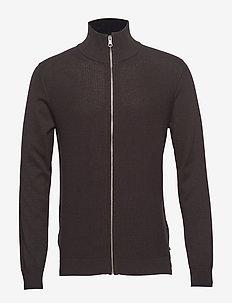 Sport High Neck - basic knitwear - dark brown