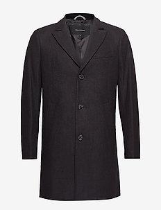 Malto Classic Wool - manteaux de laine - black
