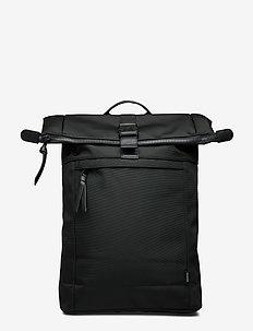 FoldanMA Backpack Nylon Bag - BLACK