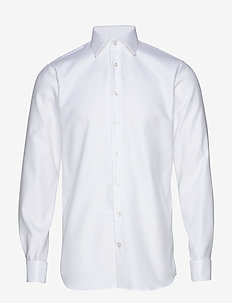 Marc Double Cuff - oxford shirts - white