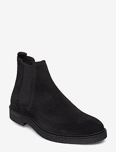 HaltonMA Suede Boot - BLACK
