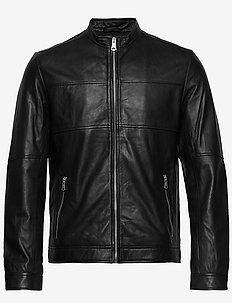 Adron - vestes en cuir - black