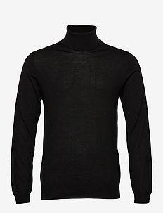 Parcusman - basic knitwear - black