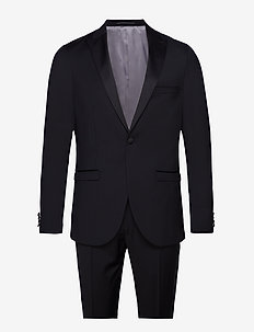 Tuxedo - single breasted suits - black