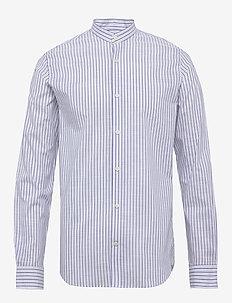 MAtrostol China - casual skjortor - chambrey blue